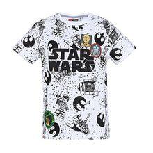 Lego Star Wars Jungen T-Shirt - Weiß - 116