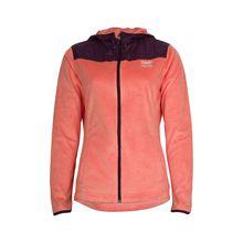 TAO Sportswear Flauschige Damen Kapuzenjacke mit Zippverschluss CUDDLY JACKE Funktionsshirts orange-kombi Damen