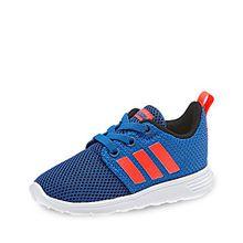 adidas Unisex Baby Swifty Inf Sneaker, Blau (Blau/Rojsol/Negbas), 25 EU