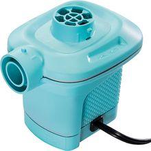 elektrische Pumpe mit 3 Verbindungs-Düsen und Überhitzungs-Schutz, Pumpleistung 650 l/h türkis