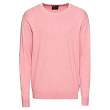 Scotch & Soda Pullover Ams Blauw cotton cashmere knit in regular fit Pullover rosa Herren