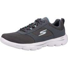 SKECHERS Sneaker Sneakers Low grau Damen