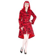 H&R; London Kurzmantel TATTOO COAT red UK8 XS