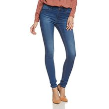 Noisy may Damen Slim Jeanshose Extreme Lucy Nw Soft Jeans Pi318 - Noos Gr. 34/L32 (Herstellergröße: XS/S) Blau (Medium Blue Denim)