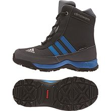 adidas Performance Adisnow Kinder-Winterstiefel AQ4131 Grey/Blue Gr. 34 (UK 2)