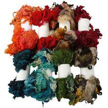 Wolllocken, Sortierte Farben, 8x20g