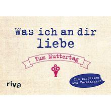 Buch - Was ich an dir liebe - Zum Muttertag, Erinnerungsalbum