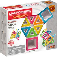 MAGFORMERS XL Neon Set 30 P