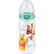 Weithals Flasche FIRST CHOICE+, PP, 300 ml, Silikonsauger Disney, minze mint