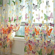 Yesiidor Vorhang Kinderzimmer Blume Fenster Vorhang Gardinen Wohnzimmer Blickdicht