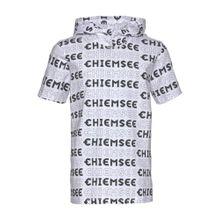 CHIEMSEE Kapuzenshirt schwarz / weiß