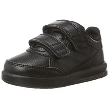 adidas Unisex Baby AltaSport CF Sneaker, Schwarz (Core Black/Core Black/Footwear White 0), 20 EU
