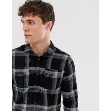 Only & Sons - Hemd aus Schottenstoff - Grün
