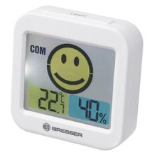 BRESSER Thermo- und Hygrometer »Temeo Smile mit Raumklimaindikator«