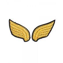 Macon&Lesquoy; Stickbroschen Set Ailes Gold