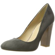 Buffalo Shoes Damen C354A-1 P1804F IMI Suede Pumps, Grau (Grey 10), 40 EU