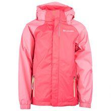 Columbia - Kid's Westhill Park Jacket - Hardshelljacke Gr S rot/rosa