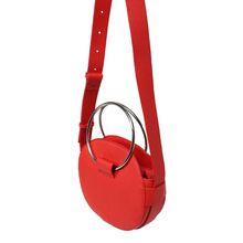 PIECES Umhängetasche PCSCARLET Handtaschen orange Damen