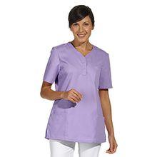 clinicfashion 12612026 Schlupfhemd flieder für Damen, Mischgewebe, Größe XL