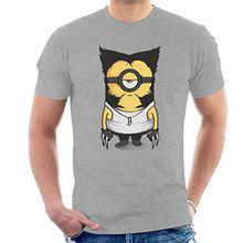 Wolvenion Wolverine Minion X Men Minions Men's T-Shirt
