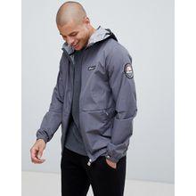 ellesse - Migliore - Leichte Jacke mit Logoband an der Kapuze in Grau - Grau