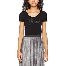 Pepe Jeans Damen Kate T-Shirt, Schwarz (Black), 36 (Herstellergröße: X-Small)