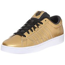 K-Swiss Hoke Metallic CMF S, Damen Sneakers, Gold (Gld/BLK/WHT 717), 37.5 EU (4.5 Damen UK)