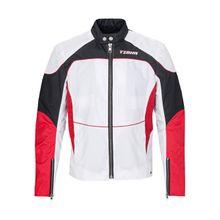 tigha Herren Jacken Shay mehrfarbig (white/racing red)