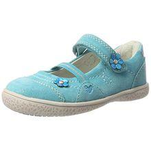 Lurchi Mädchen Tinchen Geschlossene Ballerinas, Blau (Aqua), 28 EU