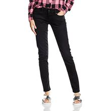 Pepe Jeans London Damen Soho Jeans, Schwarz, W33/L30