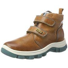 Naturino Jungen Murray Hohe Sneaker, Braun (Braun 9112), 33 EU