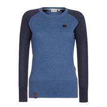 Naketano Female Knit High as a mother... II Blue-Bluegrey Melange, L