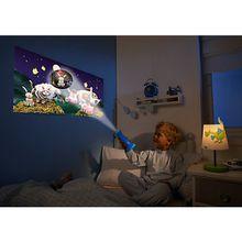 Taschenlampe & Projektor Schlaf gut blau