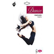 Silky Erwachsene Damen Tanz Strumpfhose Fußlos - Schwarz, Small