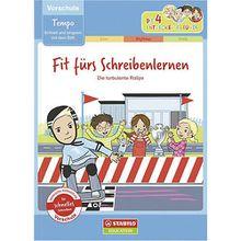 Buch - Die 4 Entdecker-Freunde: Fit fürs Schreibenlernen - schnell und langsam mit dem Stift (Vorschule)  Kinder