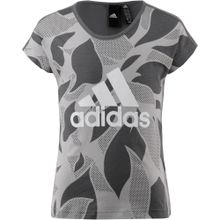 ADIDAS PERFORMANCE T-Shirt dunkelgrau