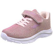 KangaROOS Unisex-Kinder Kangashine EV Sneaker, Pink (Rose/Gold), 34 EU
