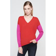 Escada Sport Pullover aus Schurwolle im Color-Blocking-Design
