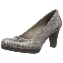 Tamaris 22409, Damen Pumps, Mehrfarbig (Taupe Struct. 343), 40 EU (6.5 Damen UK)