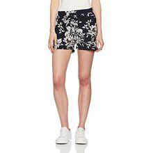 ICHI Damen Shorts Lisa SHO2, Blau (Total Eclipse 14044), 36 (Herstellergröße:S)
