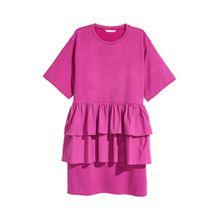 H & M - Volant-Tunika - Pink - Damen