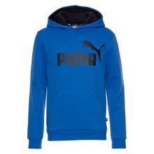 PUMA Sweatshirt 'ESS no.1 Hoody, FL B' blau / schwarz