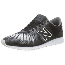 New Balance Damen WL420DF Sneaker, Grau (Grey/Black), 37.5 EU