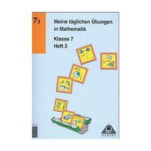 Buch - Meine täglichen Übungen in Mathematik: Klasse 7, EURO