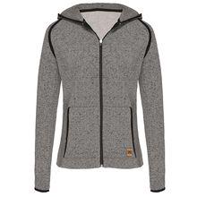 TAO Sportswear Angeraute Damen Freizeit Kapuzenjacke NESSI Sweatjacken anthrazit Damen