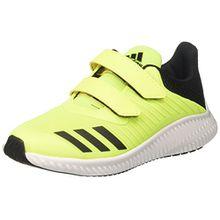 adidas FortaRun CF K, Unisex-Kinder Sneakers,Gelb (SYELLO/Ftwwht/Cblack), 30 EU