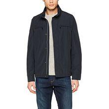 Geox Herren Jacke Man Jacket Kurze Herrenjacke, Blau (Blue Nights F4386), XX-Large (Herstellergröße: 56)