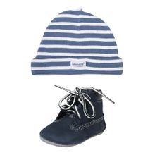 TIMBERLAND Boots 'Crib Bootie with Hat' navy