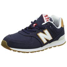 New Balance Unisex-Kinder Gc574v1g Sneaker, Blau (Blue), 38.5 EU