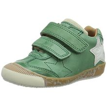 Bisgaard Unisex-Kinder Klettschuhe Low-Top, Grün (1001 Green), 35 EU